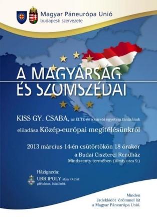 Beszélgetés Kiss Gy. Csabával (ELTE, Varsói Egyetem)